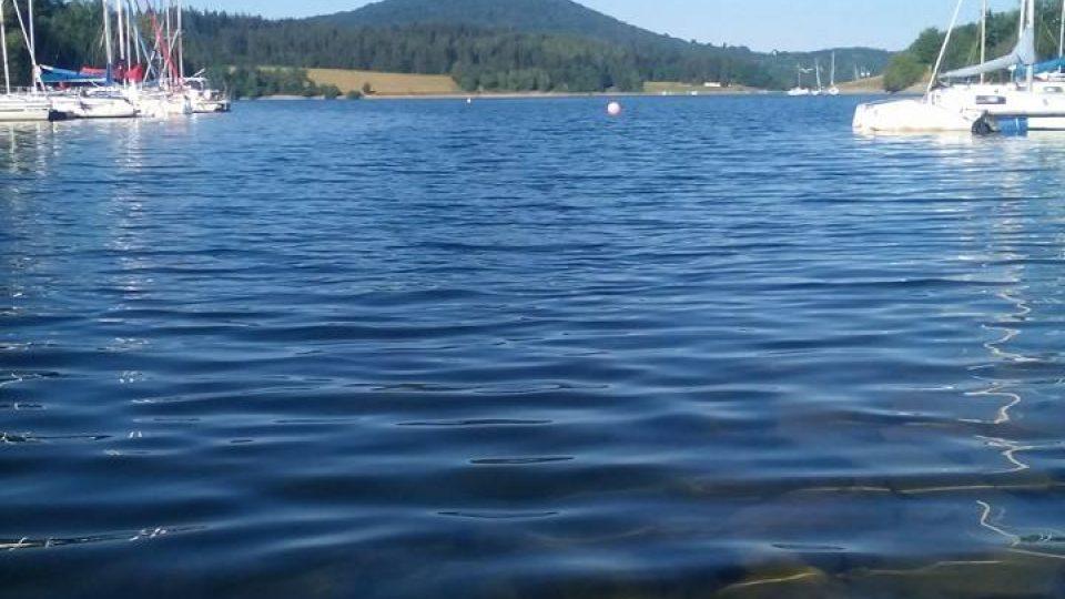 Slezská Harta je nejmladší přehrada u nás, leží na řece Moravici