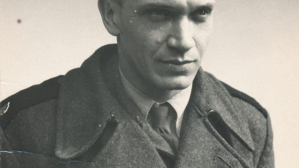 Branislav Tvarožek jako voják