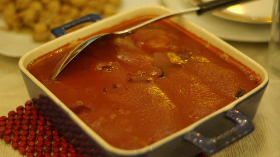 Mnazzale je kofta v rajčatovém sósu