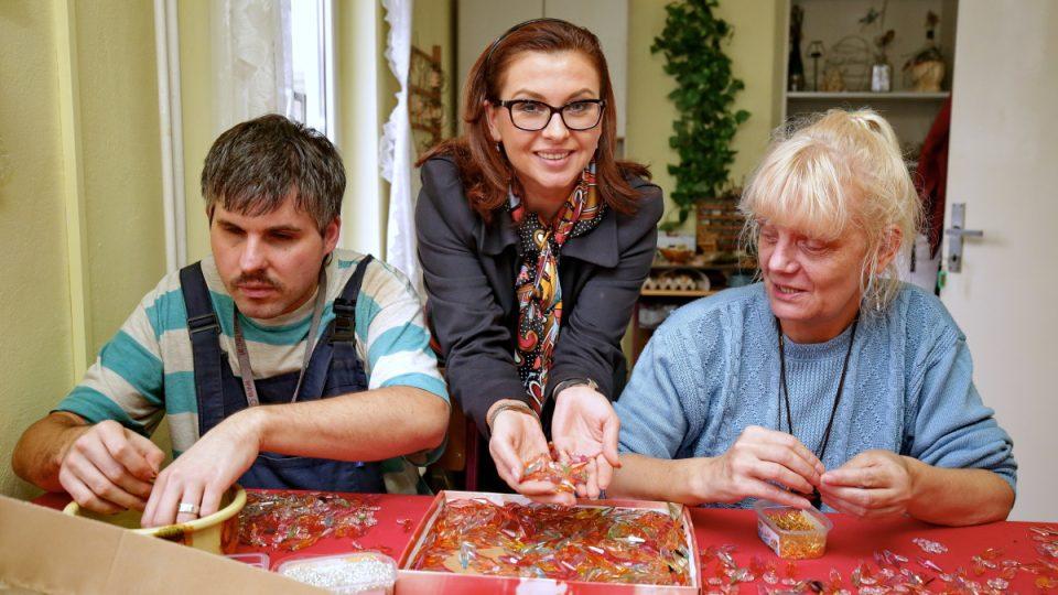 Dana Morávková je patronkou projektu Křišťál pro Světlušku
