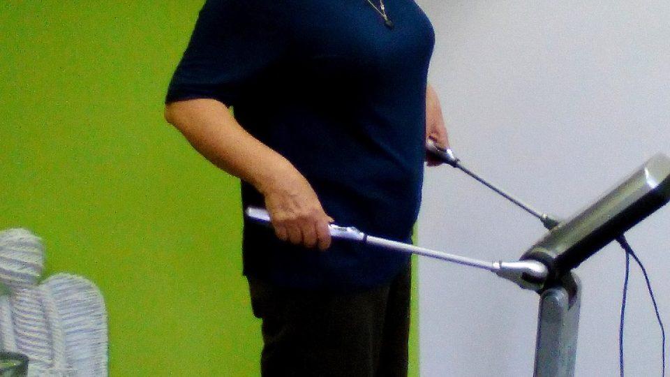 Paní Jana v listopadu 2015, dva měsíce poté, co začala měnit svůj životní styl