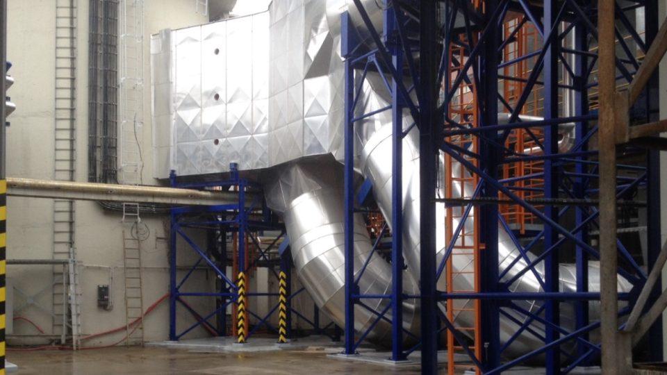 Českobudějovická teplárna má nové odsiřovací zařízení