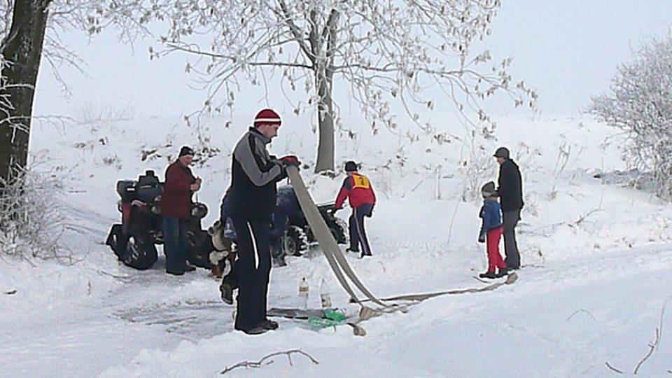 Zimní branný závod, netradiční disciplína