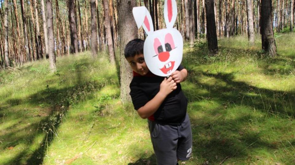 Hamlet v lese