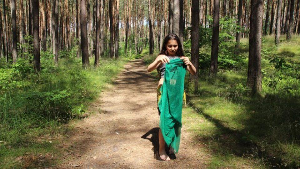Schoschana v lese