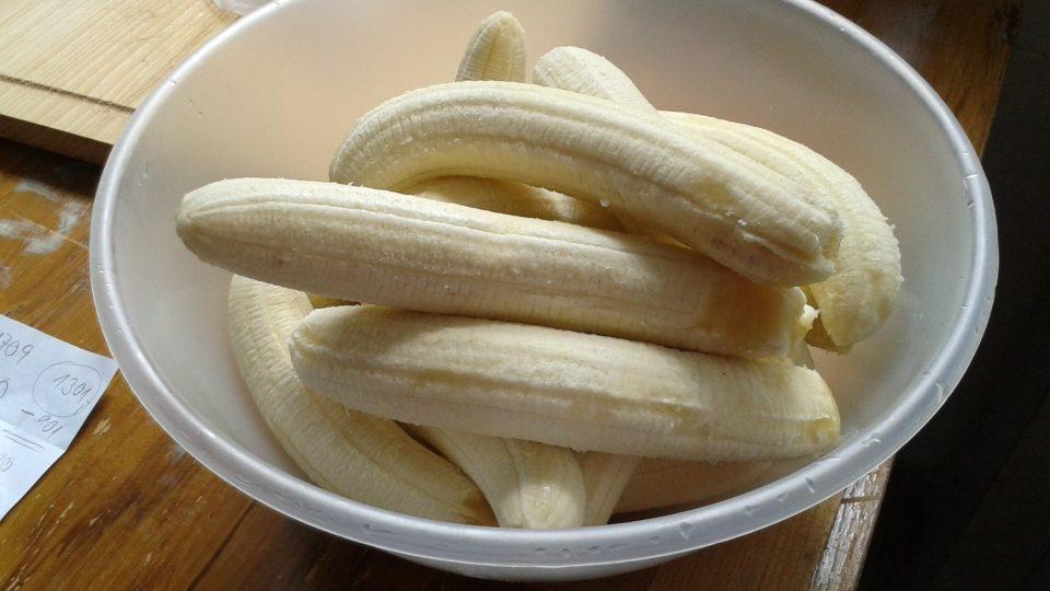 Základem jsou samozřejmě banány, musí být dobře zralé