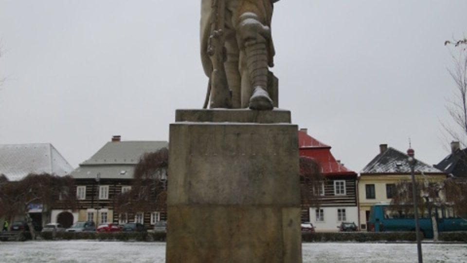Mařatkova socha francouzského legionáře