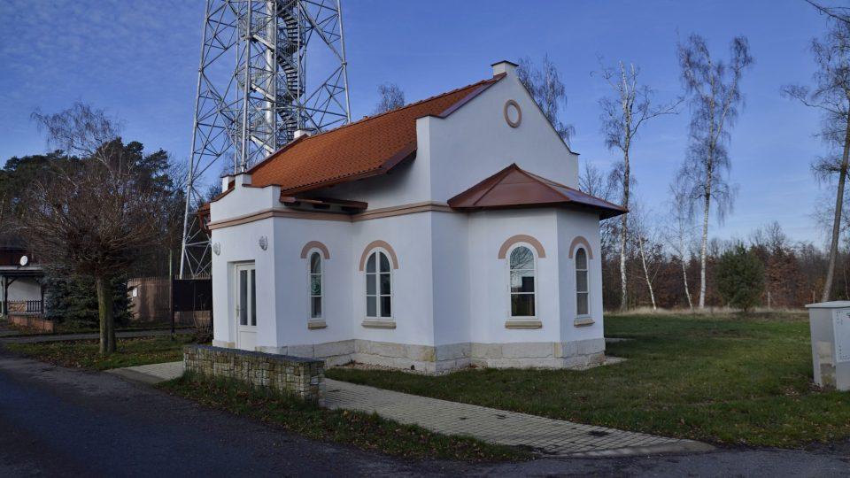 Původní domek strážce bojiště