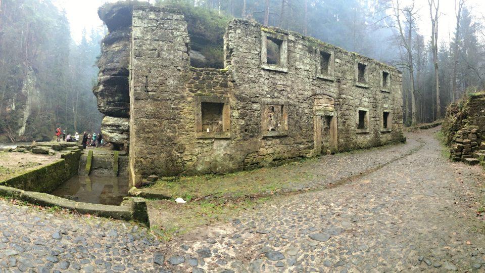 Dolský mlýn u Jetřichovic, vánoční setkání