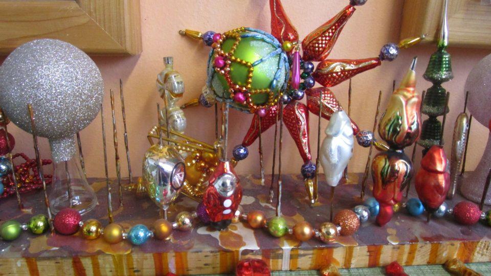 Perličkové vánoční ozdoby z Poniklé jsou světovým unikátem