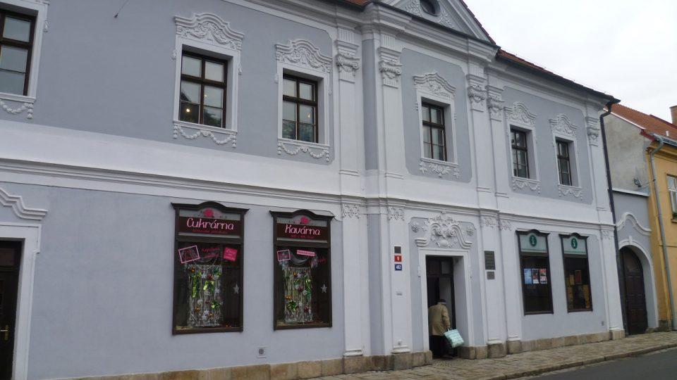 Schumpeterům dům, ve kterém je infocentrum i expozice betlémů
