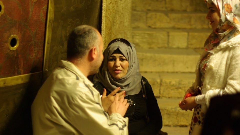 Betlém. Místo narození Ježíše Krista je uctívané místními křesťany i muslimy