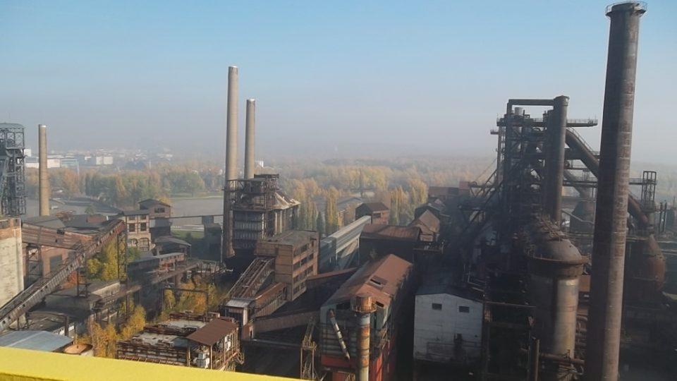 Dolní oblast Vítkovice z Bolt Tower