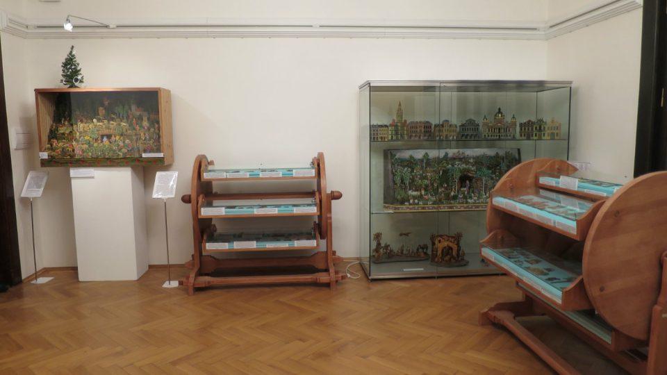 Expozice betlémů v Městském muzeu Ústí nad Orlicí
