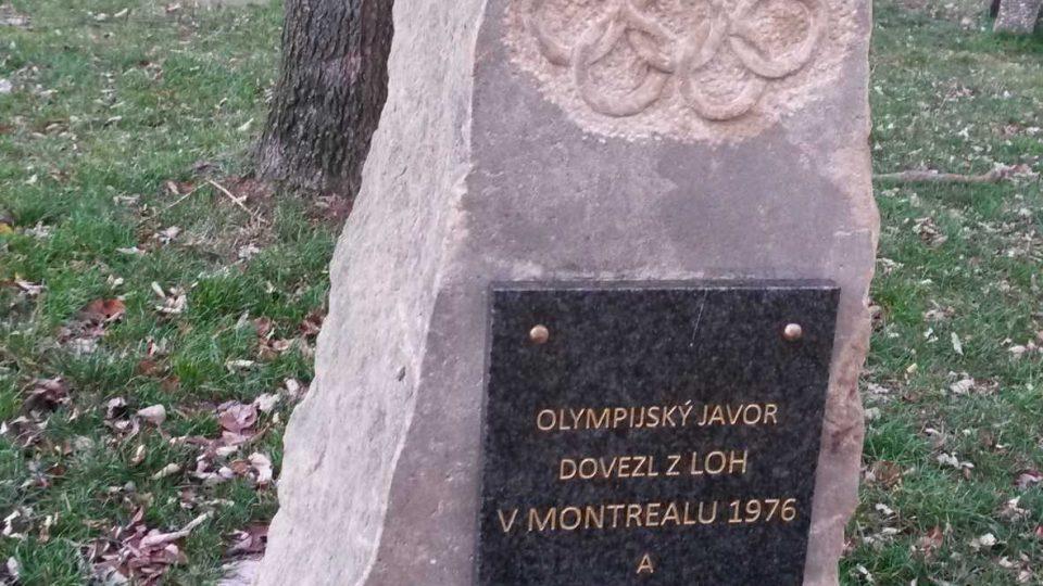 Pomník přibyl před dvěma lety