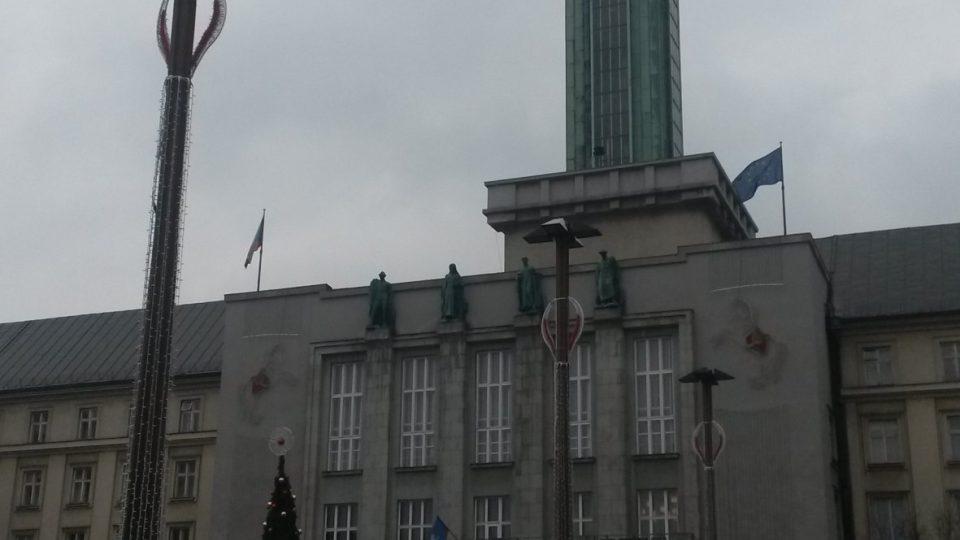 Ostravská Nová radnice s vyhlídkovou věží