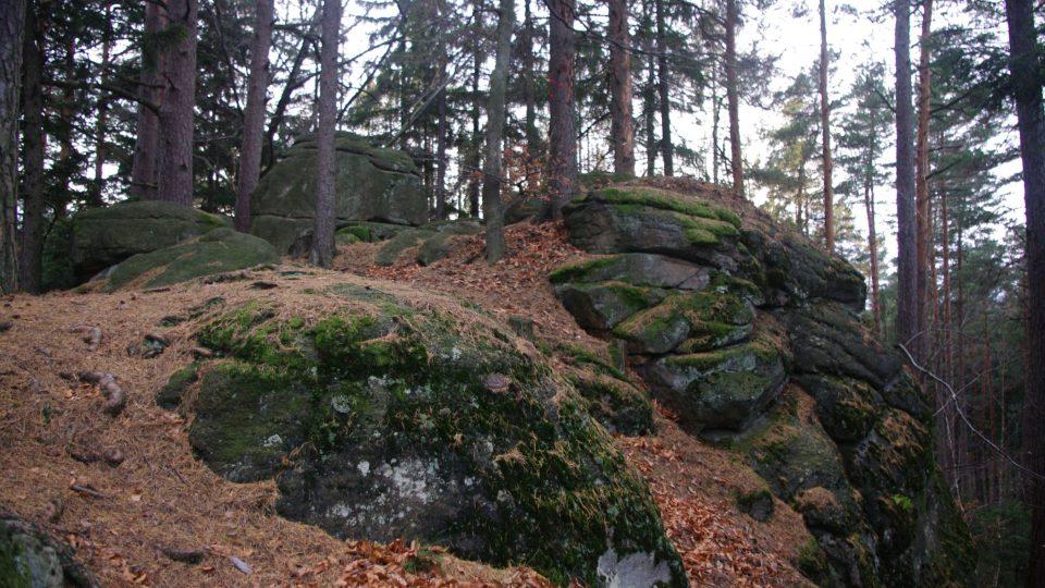Jižní část Sedmi skal