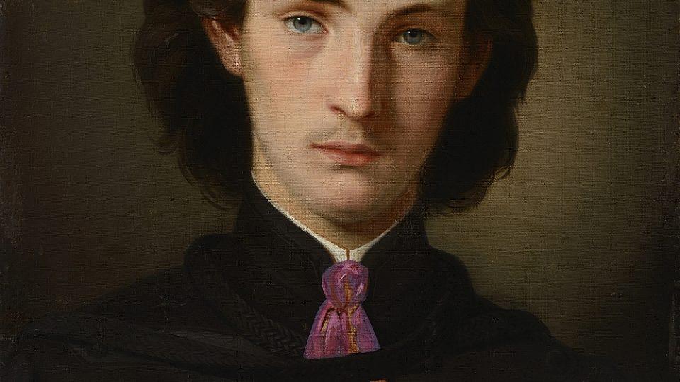 Bohumír Lindauer, autoportrét (1862)