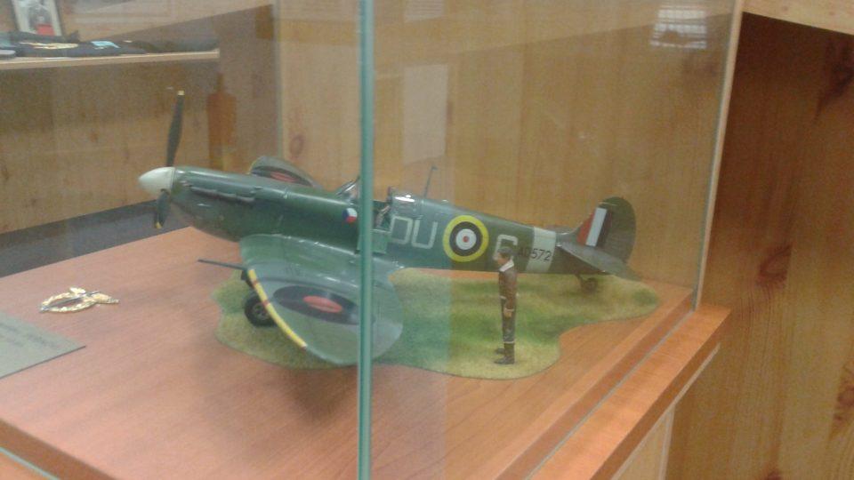 V expozici najdou návštěvníci i různé modely letadel