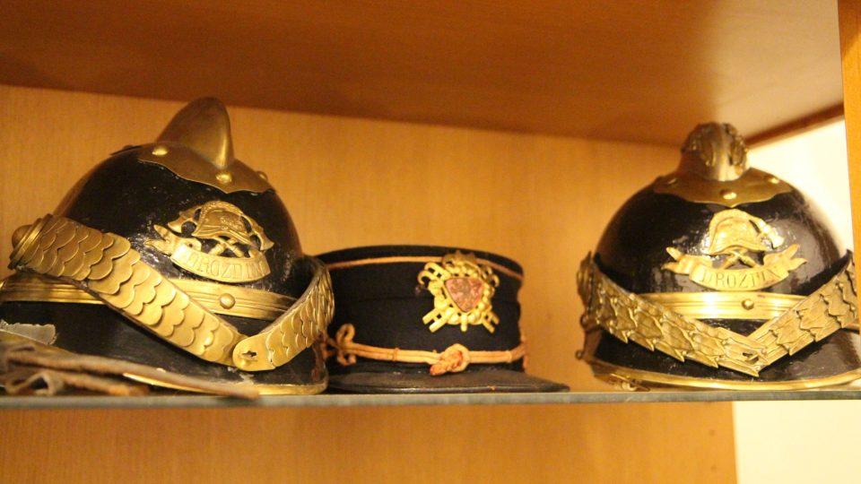 Historické helmy