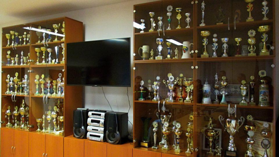 Pochlubit se mohou plnou stěnu trofejí