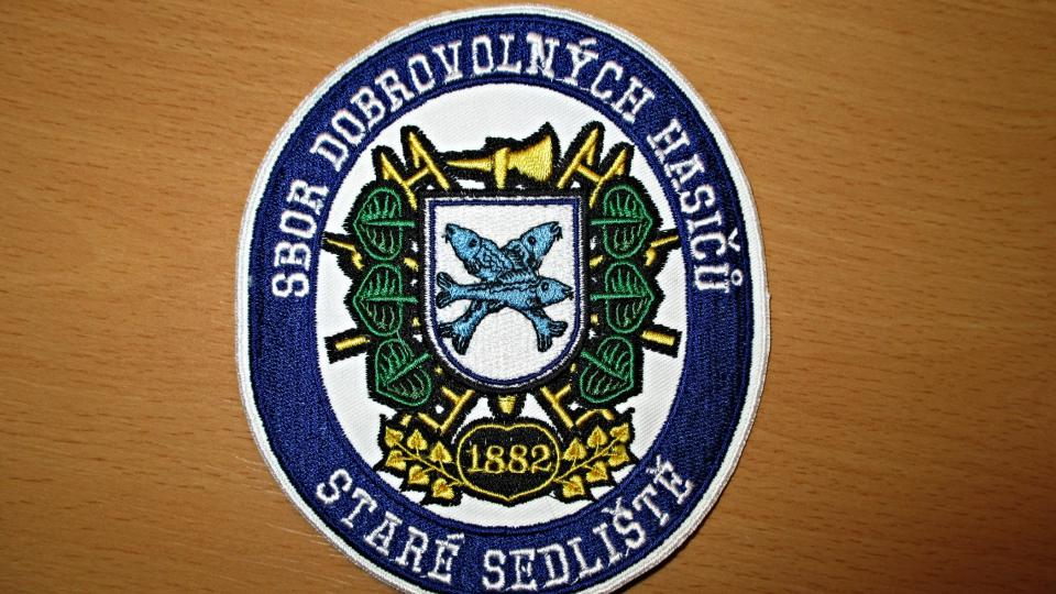 Znak hasičského sboru Staré Sedliště