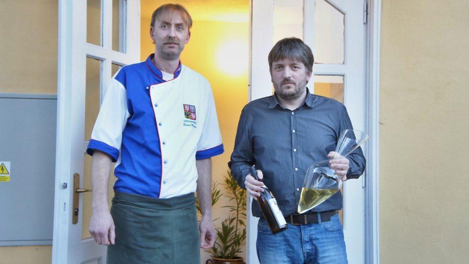 Šéfkuchař Martin Barcal, majitel Tomáš Trejbal