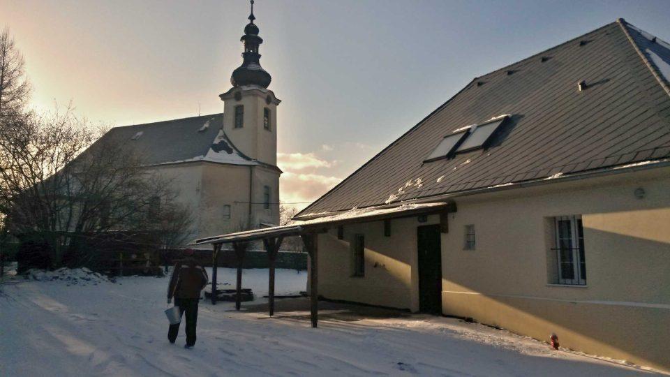 Stará fara v Pohoři na Odersku se proměnila v Domeček Pohoř