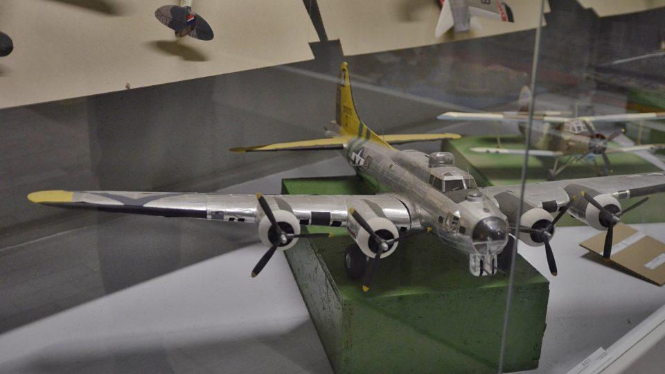 Expozice modelů letadel