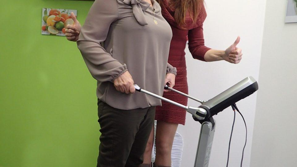Zdvižený palec ukazuje výživová poradkyně Jindra Jeníková z českobudějovické Kondice Pro
