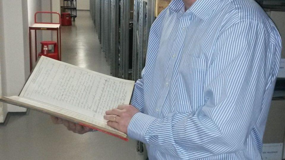 Tomáš Adamec, ředitel archivu