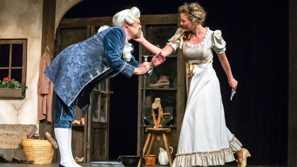Komická opera Zakletý princ v Jihočeském divadle