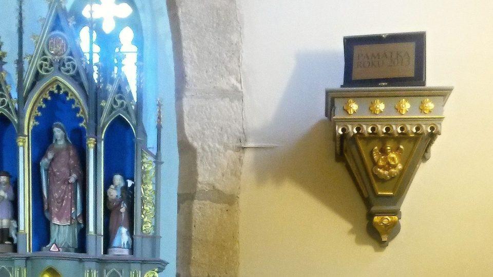 V kostele sv. Kateřiny ve Štramberku