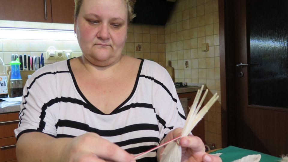 Lenka Bláhová ze Zábřehu začala mašlovačky vyrábět teprve nedávno