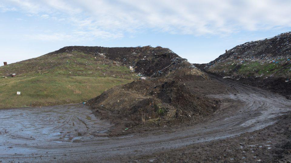 Skládka komunálního odpadu v Nasavrkách