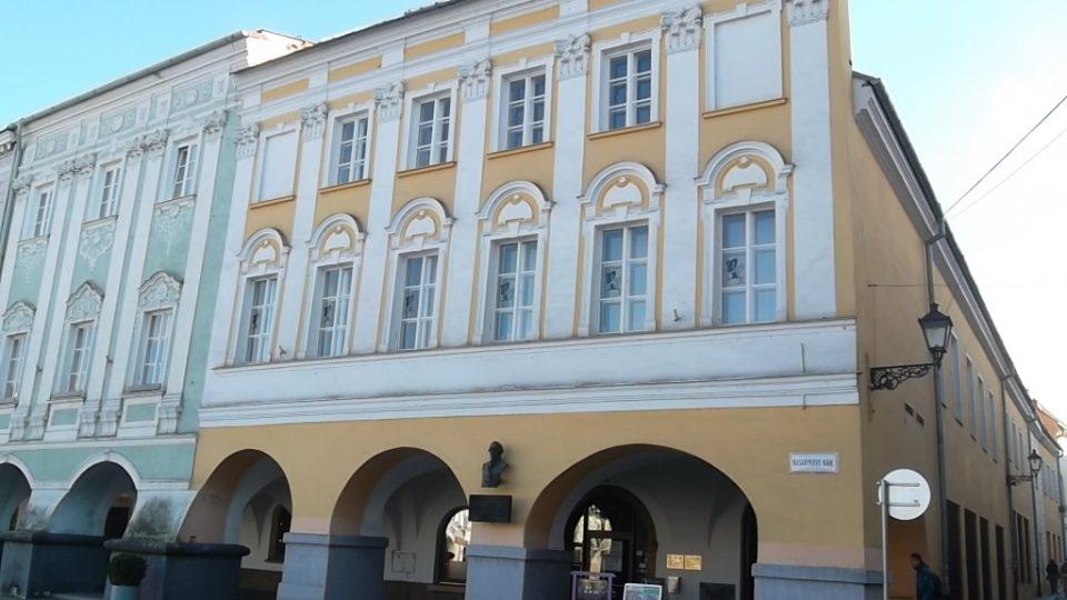 Laudonův dům na Masarykově náměstí v centru Nového Jičína