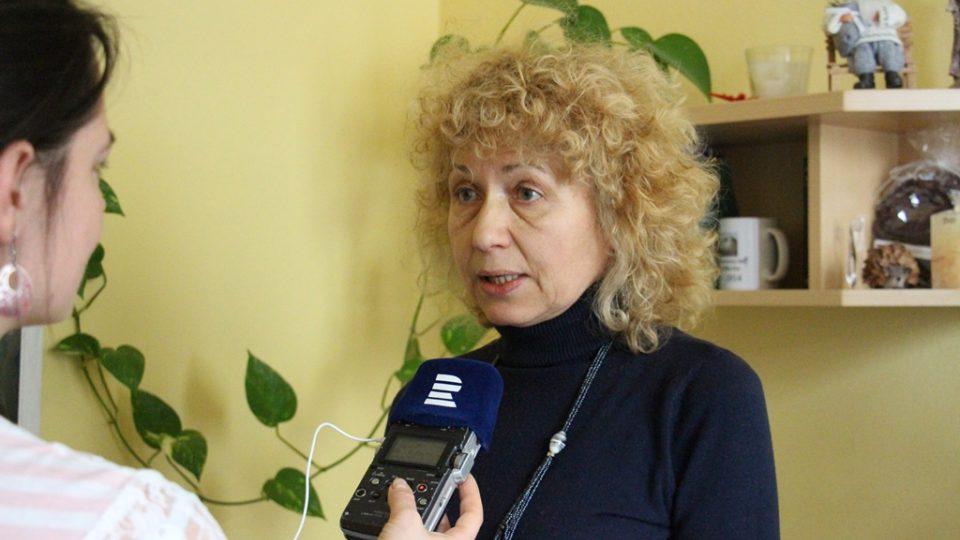 Za organizaci ADRA dobrovolníky koordinuje Zdena Chmelová