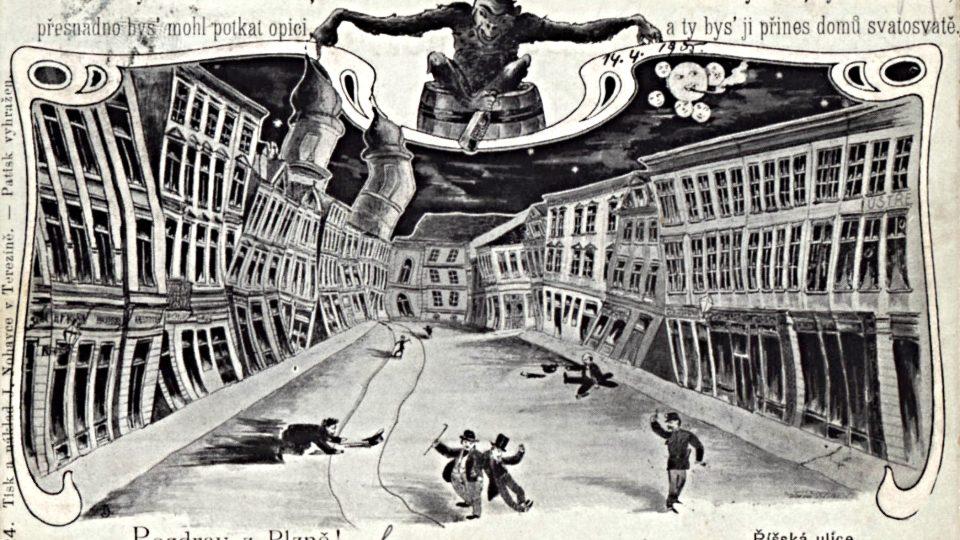 Koncem 19. a začátkem 20. století nabýval přístup k osobním potížím a katastrofám na důrazu. Opička však představovala ještě dlouho spíše důvod k veselí a opilost dokonce platila za polehčující okolnost u soudu