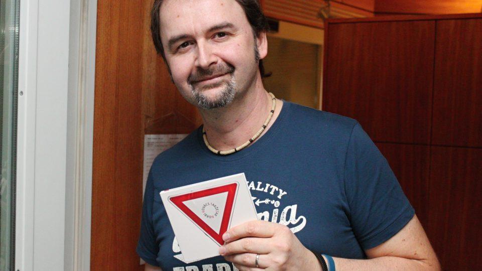 Norbi Kovács se svým CD Takže tak