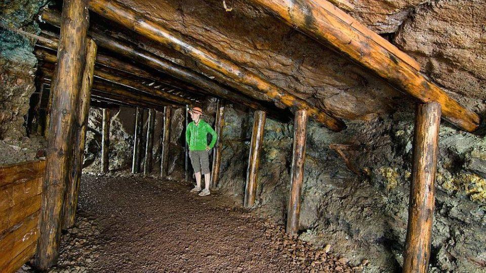 V měděném dole Bohumír v Jívce na Trutnovsku připravují na letní sezónu novou expozici