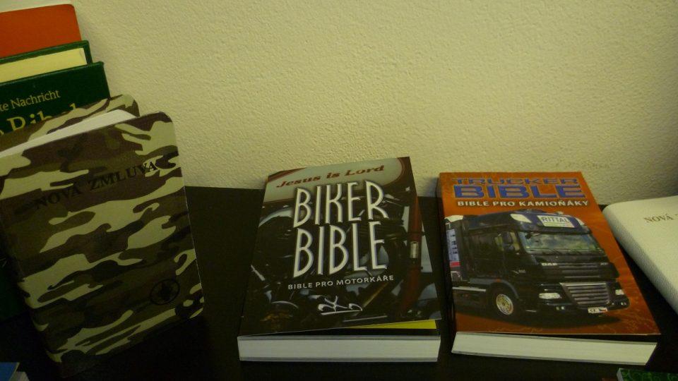 Bible pro vojáky, motorkáře, kamioňáky