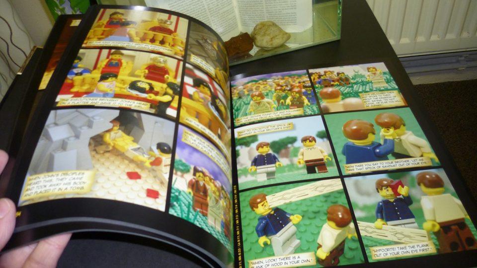 Legobible připomíná známé výjevy