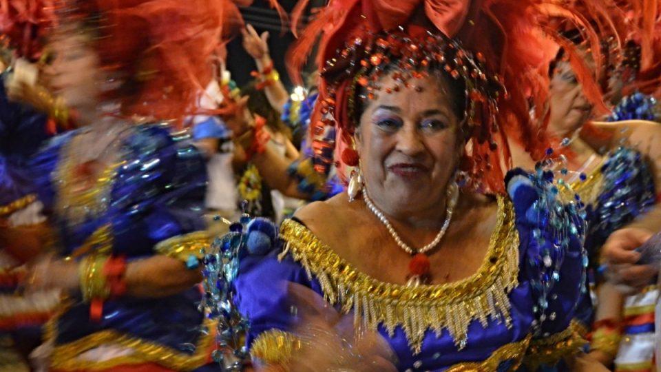 Účastníci karnevalu srší radostí a energií v jakémkoliv věku