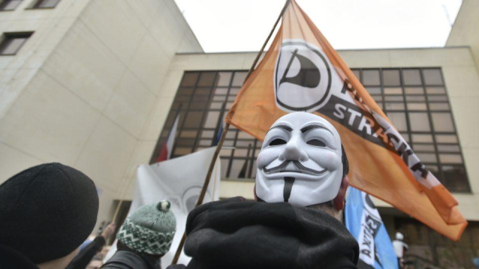 Demonstrace za svobodný přístup k internetu