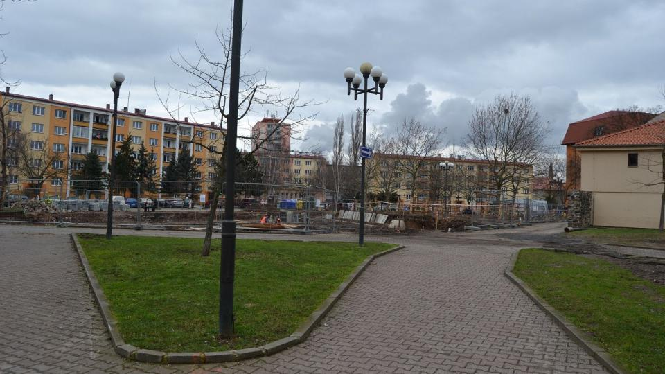 Kadaň - realizace Studentského náměstí