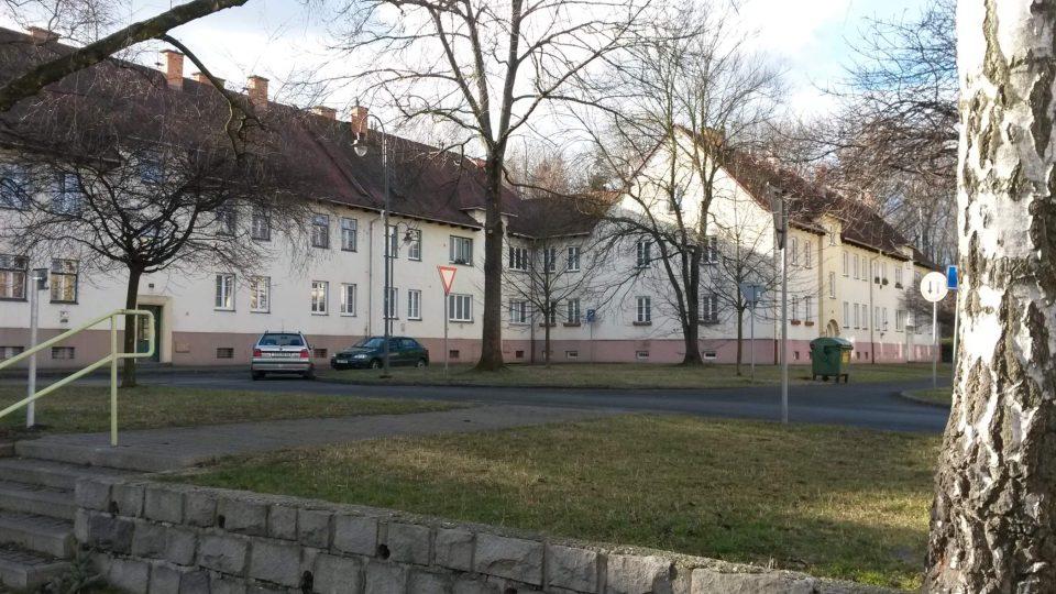 Kolonie Šídlovec v Ostravě-Hrabové