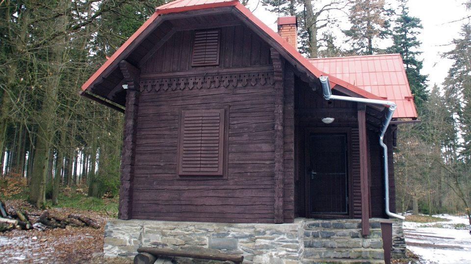 Lichenštejnova chata pod vrcholem Vysoké Roudné