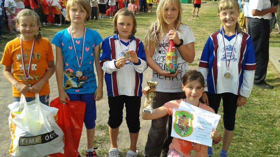 Malí hasiči z Přívratu bývají na soutěžích úspěšní