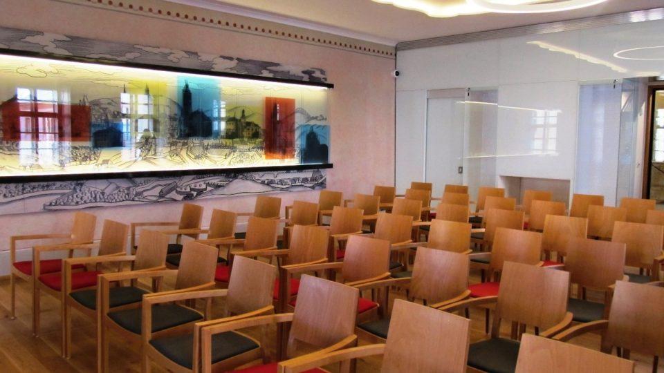 Dačického dům v Kutné Hoře. Velký přednáškový sál