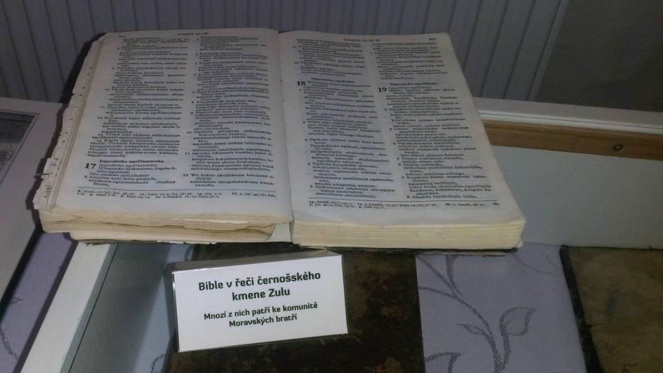 Bible v řeči černošského kmene Zulu